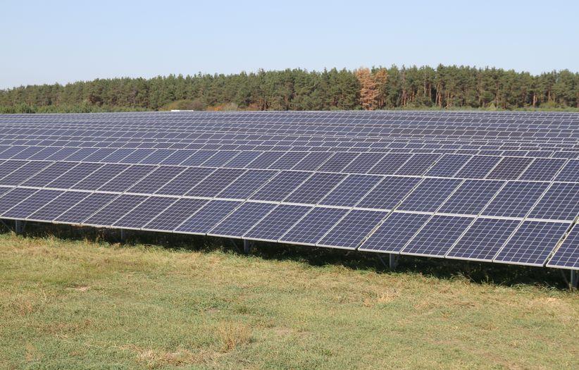 сонячна електростанція в Київській області