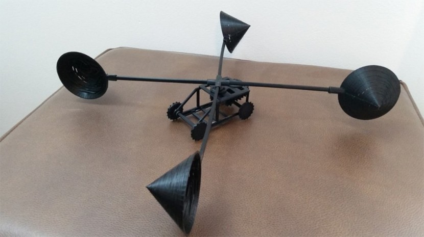 концепт авто з вітродвигуном
