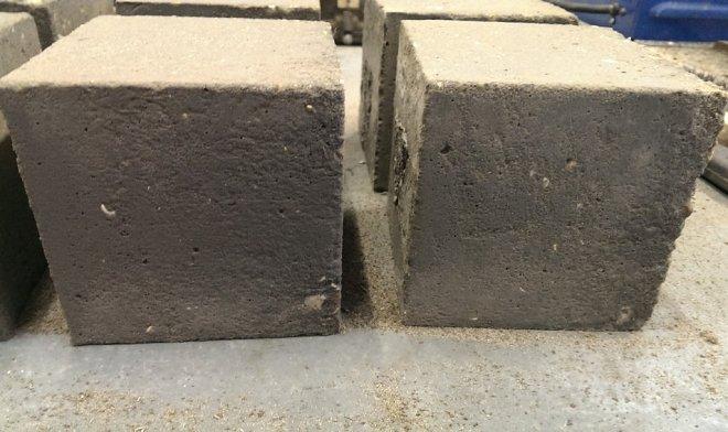 новий бетон з домішкою графену