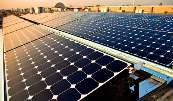первоскитні сонячні панелі