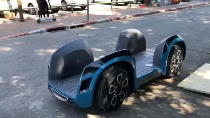 платформа нового електромобіля