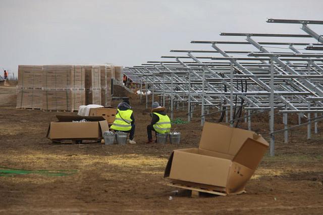 будівництво зелених електростанцій