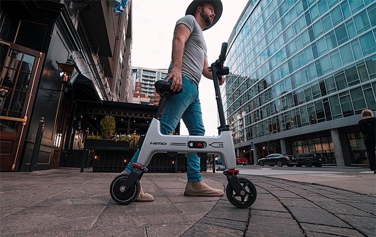 мініатюрний електровелосипед