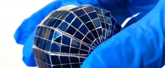 винахід сферичні сонячні панелі