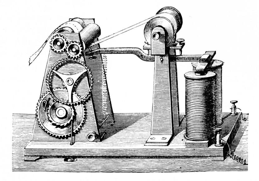 перший телеграф