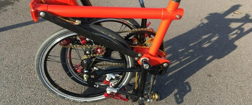 склоадний велосипед