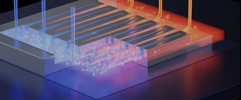 мікрочип з охолодженням